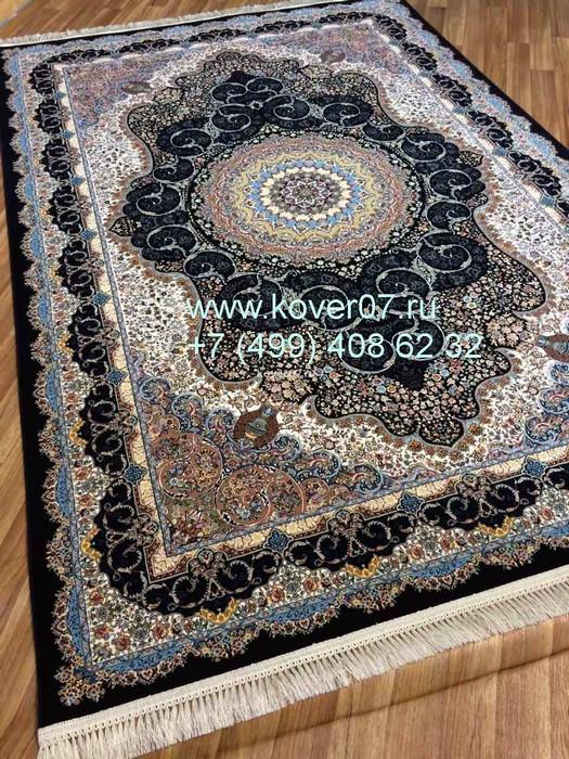 Jamil Carpet 1201_Dark_Blue